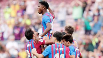 Barcelona'nın genç yetenekleri