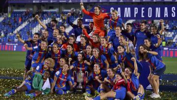 Barcelona, las últimas campeonas