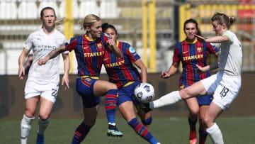 Barcelona está 'com um pé' nas semifinais da Champions Feminina
