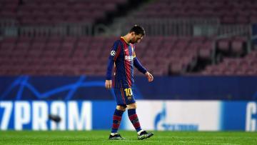 Steht mit dem FC Barcelona abermals vor dem vorzeitigen Aus in der Champions League: Lionel Messi
