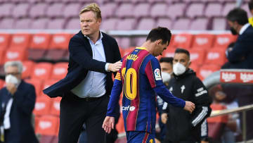 Ronald Koeman fears a future without Lionel Messi
