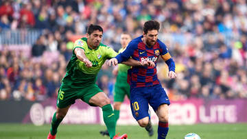 Lionel Messi, Jose Angel Valdes 'Cote'