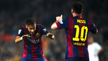 Messi y Neymar están en el top 5 de hat-tricks en Champions League