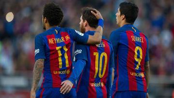 Lionel Messi, Neymar, Luis Suárez, uno de los tridentes más temidos de la historia
