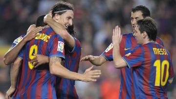 FC Barcelona's Swedish forward Zlatan Ib