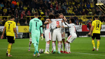 Joy for Bayern; despair for Dortmund