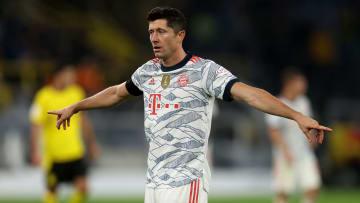 Robert Lewandowski is thinking about a future away from Bayern Munich
