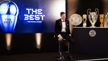 FC Bayern Muenchen Players And Staff Watch FIFA The BEST Awards