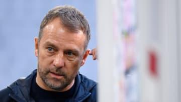Hansi Flick zeigte sich in dieser Saison häufig unzufrieden mit dem Münchner Kader.