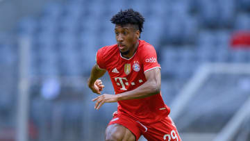 Kingsley Coman is Bayern's new number 11