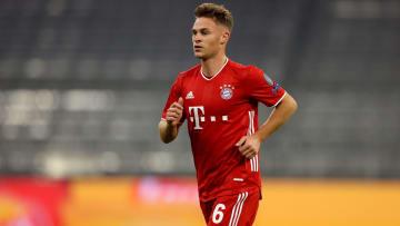 Joshua Kimmich is back in Bayern Munich training
