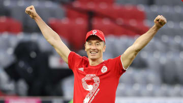 Robert Lewandowksi, attaccante del Bayern Monaco