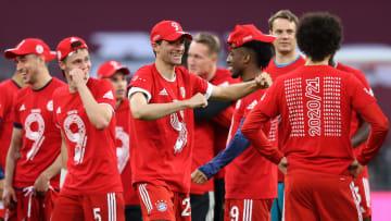 Mit einen glänzenden 6:0-Erfolg hat sich der FC Bayern den 31. Meistertitel redlich verdient.