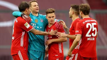 Der FC Bayern macht es sich gemütlich