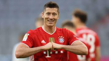 Lewandowski segue no Bayern de Munique