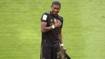 Alaba recently arrived from Bayern Munich