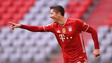 Robert Lewandowski, FC Bayern Muenchen v VfB Stuttgart - Bundesliga