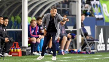FC Dallas head coach Luchi Gonzales