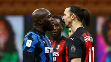 Tensions boiled over between the two Milan clubs