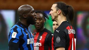 Zlatan Ibrahimovic and Romelu Lukaku clashed when these two sides last met in the Coppa Italia
