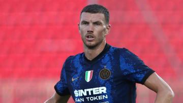 Dzeko should make his league debut for Inter