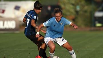 Uno scatto di Inter-Lazio femminile