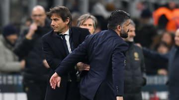 Antonio Conte e Gennaro Gattuso