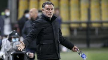 Galtier led Lille to a shock Ligue 1 title last season