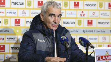 L'ancien entraineur du FC Nantes s'est encore attaqué à Pablo Longoria.