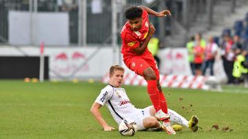 Karim Adeyemi von RB Salzburg im Spiel gegen LASK Linz.