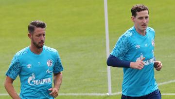 Mark Uth und Sebastian Rudy müssen sich auf Schalke durchkämpfen