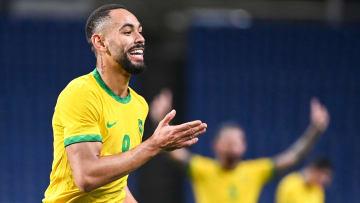 Matheus Cunha marcou o gol que classificou o Brasil