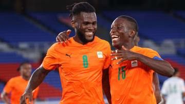 Kessie is currently on Olympic duty with Ivory Coast