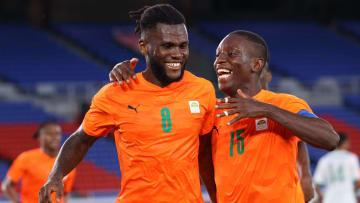 Franck Kessie con la Costa d'Avorio alle Olimpiadi