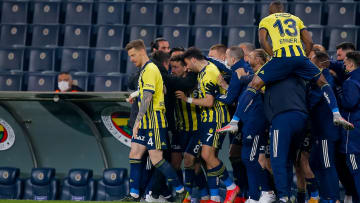 Fenerbahçe'nin gol sevinci