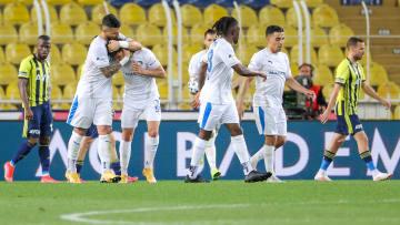Büyükşehir Belediye Erzurumspor'un gol sevinci