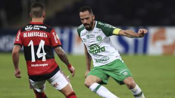 Chape caiu, de virada, ante o Flamengo na última rodada