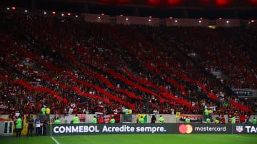 Flamengo vai mandar jogo das quartas de final da Libertadores no Mané Garrincha.
