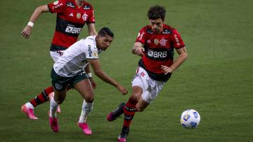 Flamengo e Palmeiras fizeram um dos grandes jogos da rodada 1