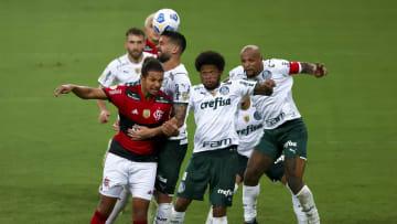 Palmeiras e Flamengo fazem o grande jogo da rodada