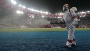 Flamengo e FERJ têm interesse, mas Prefeitura do Rio de Janeiro veta e final do Campeonato Carioca segue com público barrado.