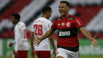 Rodrigo Muniz'in gol sevinci