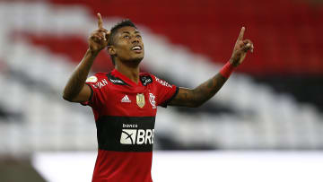 Bruno Henrique só não fez chover no Maracanã