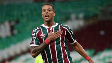 Fluminense venceu o Santa Fe por 2 a 1, de virada