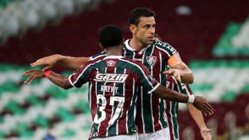 Fred anotou o gol de empate na vitória tricolor por 2 a 1