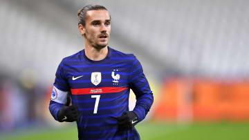 Antoine Griezmann dificilmente vai mal com o manto da França.