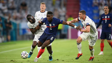 Paul Pogba a sorti le grand jeu face à l'Allemagne.