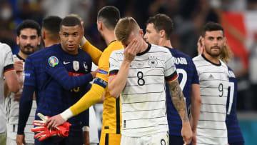 Deutschland musste sich zum EM-Auftakt Frankreich geschlagen geben