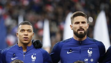 There has been a bit of needle between the France strikers