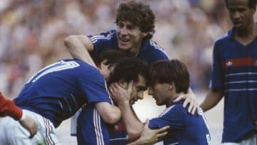 La France s'appuyait sur une très belle équipe pour son sacre européen en 1984.